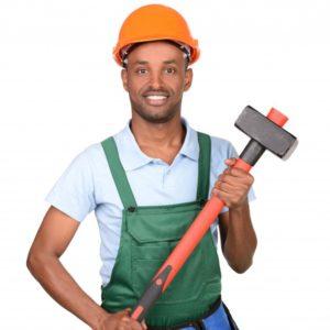 profil d'un ouvrier sur l'application mobile de services à la demande